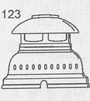 HK500用 スペアパーツ [No.123] ヘッドカバー