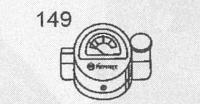 HK150/500用 スペアパーツ [No.149] 圧力計付き注油口キャップ