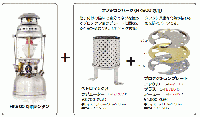 Petromax HK500用パーツ[No,126] プロテクションプレート <3カラー展開>