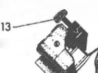 HK150/500用 スペアパーツ [No.13] 圧力調整スクリュー (ネジ)