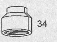 HK150/500用 スペアパーツ [No.34] ガスチャンバー